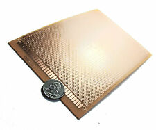 2 Pieces x General Purpose / Perforated PCB Boards 12 x 18 cm. ( Perfboard )