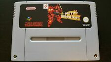 Metal Warriors SNES Super Nintendo PAL in English