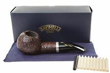 Savinelli Bianca 320 Tobacco Pipe - Rusticated
