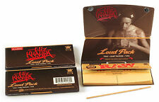 3 x  WIZ KHALIFA Classic LOUD PACK King size Rolling paper + TIPS + Poking tool