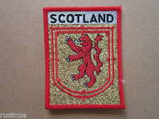 Scotland Woven Cloth Patch Badge