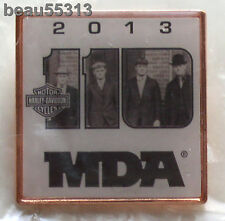 HARLEY DAVIDSON 2013 110th ANNIVERSARY MDA HOG H.O.G FOUNDERS VEST HAT PIN