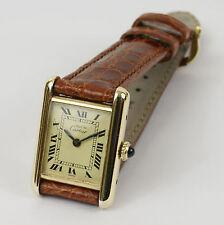 Montre Cartier Must Tank. Vintage . Mouvement mécanique. Vers 1977