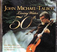 Living Water 50th  Music CD John Michael Talbot Compilation Gospel Christian