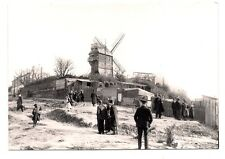 paris 1900  le moulin de la galette   REPRODUCTION