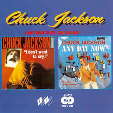 "CHUCK JACKSON  ""I DON'T WANT TO CRY - ANY DAY NOW""  2 LP's ON 1 CD   24 TRACKS"