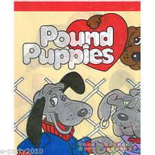 POUND PUPPIES PAPER TABLE COVER ~ Vintage Birthday Party Supplies Decorations