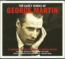 THE EARLY WORKS OF GEORGE MARTIN - 2 CD BOX SET - LOVE ME DO & MANY MORE