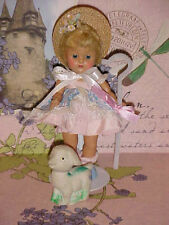 1950 - 1953 Beautiful Vintage Strung Ginny Doll BO PEEP ~ Frolicking Fables