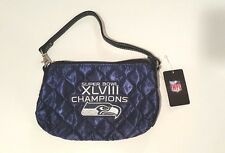 NFL Super Bowl XlVIII 48 Champions Seattle Seahawks Quilted Wristlet Purse