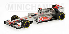 MINICHAMPS FORMULA 1 McLAREN MERCEDES J BUTTON SHOWCAR 2012-CODE 530 124373