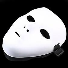 White JabbaWockeeZ Halloween Face Mask Hip-Hop Ghost Dance Party - Unisex