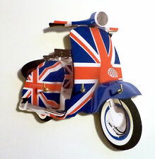 Scooter Key Rack, Scooter Key Holder, Mod Union Jack LI Scooter Key Rack Holder