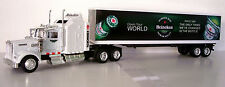 KENWORTH W900 Semi Truck Diecast 1:43 Scale Heineken Custom Graphics