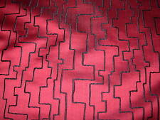 ~10 YDS~SWAVELLE/MILLCREEK~MODERN RETRO GEOMETRIC UPHOLSTERY FABRIC FOR LESS~
