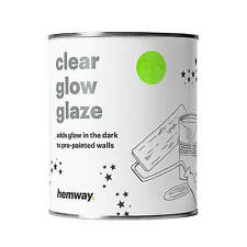 Hemway | Glow in the Dark Paint Glaze 1L for Painting Walls Ceilings Bedrooms