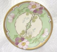 """Antique PL Limoges Hand Painted signed """"Have""""  Art Deco Plate. 6 1/2 """" Stouffer"""""""
