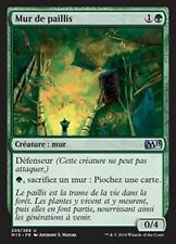 MTG Magic M15 FOIL - Wall of Mulch/Mur de Paillis, French/VF