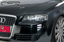 CSR - AUDI A3 8P 05- EVIL EYE ABS PLASTIC HEADLIGHT EYEBROWS