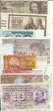 EUROPE 8 NOTES HIGH VALUE. SAME IN SCAN. 4RW 12SET