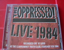 The Oppressed Live 1984 CD NEW SEALED Punk Oi! Skinhead