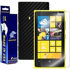 ArmorSuit MilitaryShield Nokia Lumia 920 Screen + Black Carbon Fiber Skin! New!