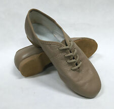 Theatricals J167L Child Size 2.5M Tan Full Sole Lace Up Jazz Shoe