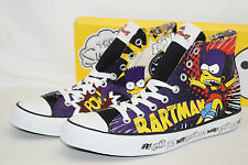 CONVERSE CHUCKS ALL STAR HIGH Gr.42,5 UK 9 CT AS HI BARTMAN SIMPSONS 142037C