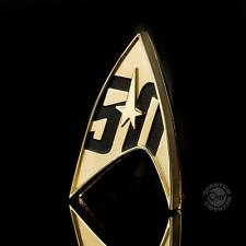 Star Trek 50th Anniversary Magnetic Badge Prop Replica by Quantum Mechanix
