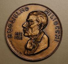 Medaglia massoneria in bronzo di Guglielmo Miliocchi 1983 -  TIRATURA LIMITATA