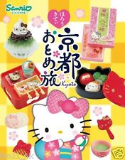 ❤  Re-Ment Sanrio Hello Kitty Girl's Trip to Kyoto Set of 8 ❤ RARE SET