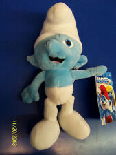"The Smurfs 2 Movie Smurf Gift Collectible Stuffed Toy 8"" Plush Doll - Clumsy"