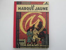 BLAKE ET MORTIMER EO1956 LA MARQUE JAUNE TBE EDITION ORIGINALE SANS POINT TINTIN