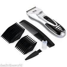 New Household 6pcs Set Trimmer Dry Battery Electric Hair Clipper