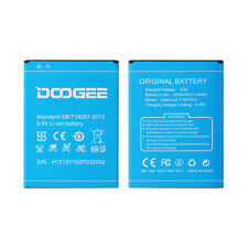Geninue Battery for Doogee Valencia2 Y100 Plus 3000mAh Backup Batterie Bateria