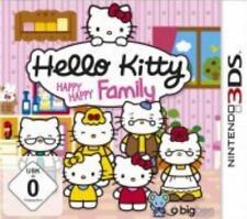 Nintendo 3DS Hello Kitty Happy Happy Familiy Neu