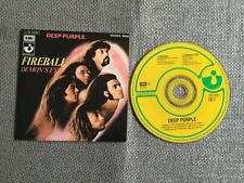Deep Purple Fireball CD Single Card Sleeve