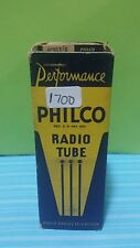 RARE WWII Factory Sealed Philco  6C5 GT  Metal Base Vacuum Tube Tested Good