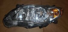 11-13 TOYOTA COROLLA LH DRIVER SIDE HEADLIGHT USED TOYOTA OEM