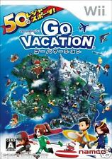 Used Wii Go Vacation  JAPAN JP JAPANESE JAPONAIS IMPORT