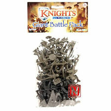 Knights & Warriors - 5cm Plastic Figures GIANT BATTLE PACK 40pc Approx