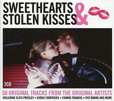 SWEETHEARTS & STOLEN KISSES - 2 CD BOX SET - ROCKIN' ROBIN, YOUNG LOVE & MORE