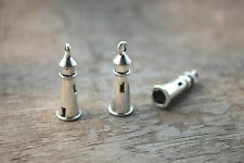 20pcs--Lighthouse Charms silver Lighthouse pendants25mm x 8mm