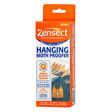 Pack of 4 Zensect HANGING MOTH PROOFERS with Lavender Fragrance 1797-1