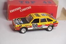 KIT TOP 43 RENAULT 20 DAKAR 1982 REF 61 1/43