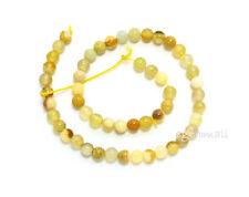 Rare Gem Oregon Opal Round Beads 4mm 15ct #76034