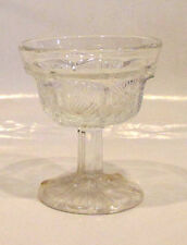 Thistle  Pattern Stemware Clear Sherbert  Mint Condition Collectors Item