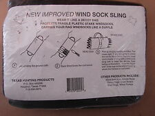 Wind Sock Sling by Texas Hunting Products Carry Rag Windsocks like a duffle new