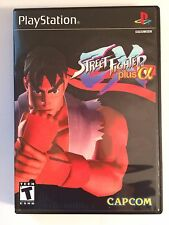 Street Fighter EX Plus Alpha - Playstation - Replacement Case - No Game