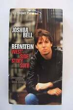 Joshua Bell - Bernstein West Side Story Suite VHS Promo Video Tape Violin Master